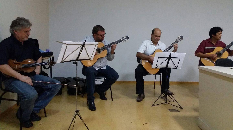 Evento reúne palestras e audição musical