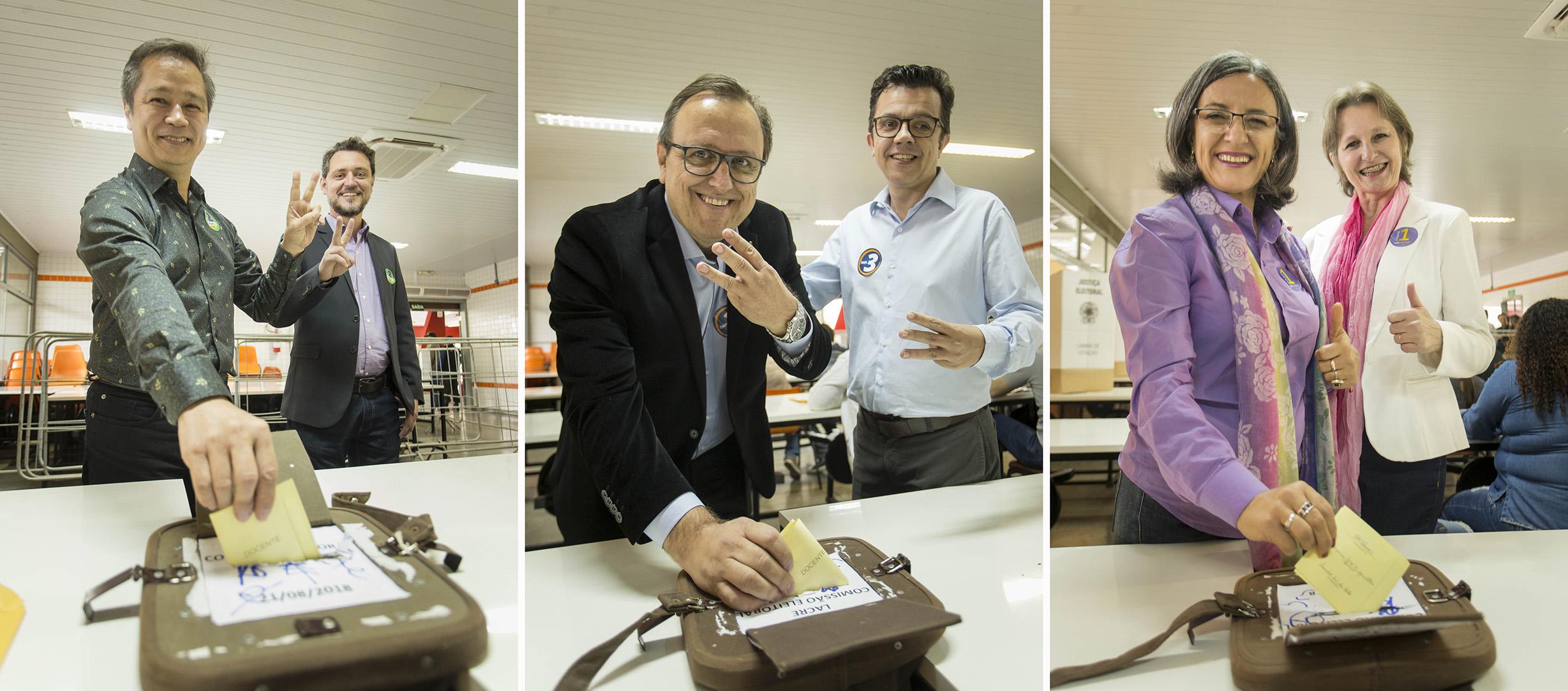 Resultado da eleição para Reitoria deve sair até às 12 horas de quarta-feira