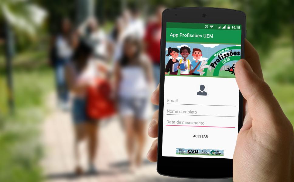 UEM lança aplicativo para 12ª Mostra de Profissões