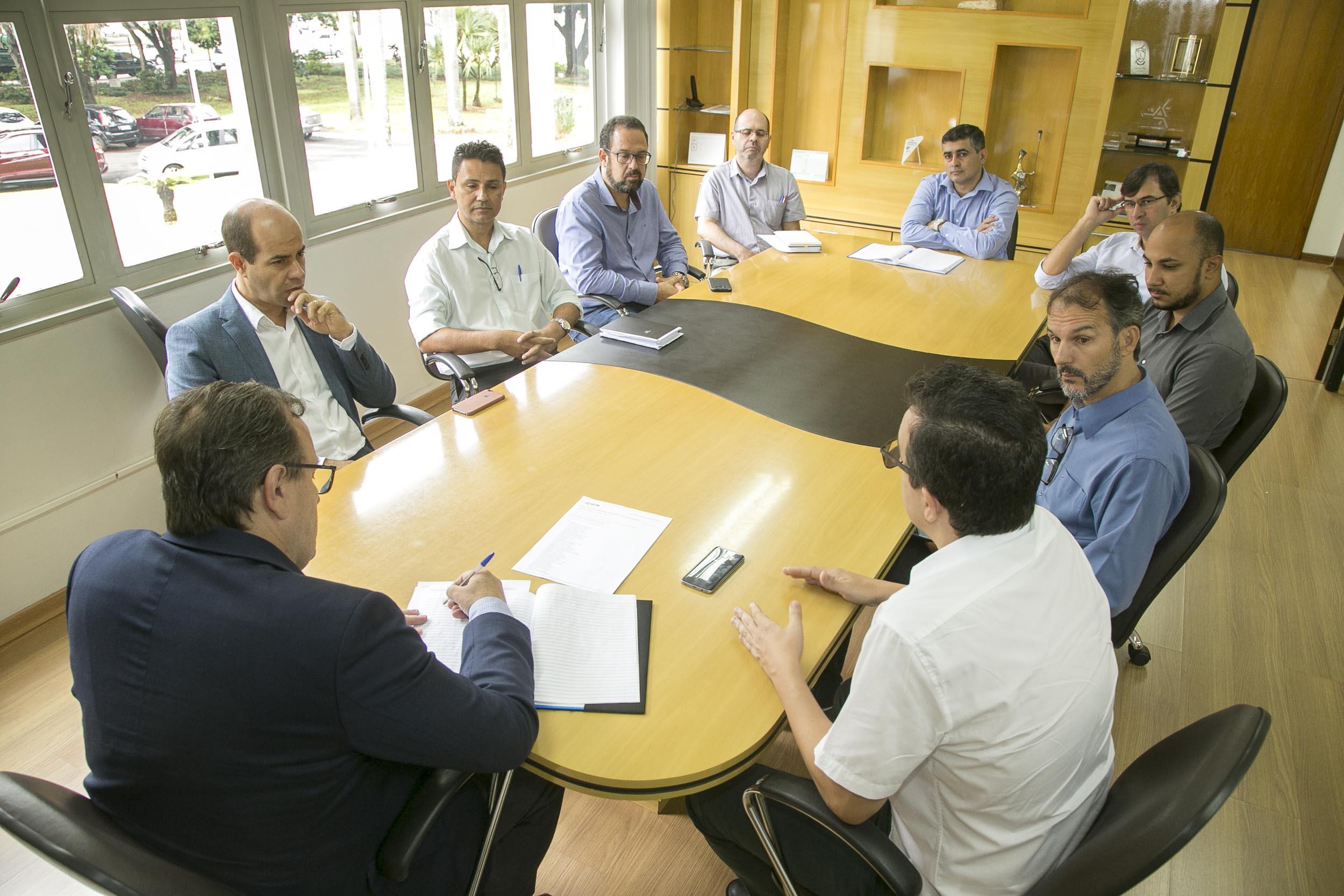 Reitoria recebe visita do deputado Evandro Araújo (PSC)