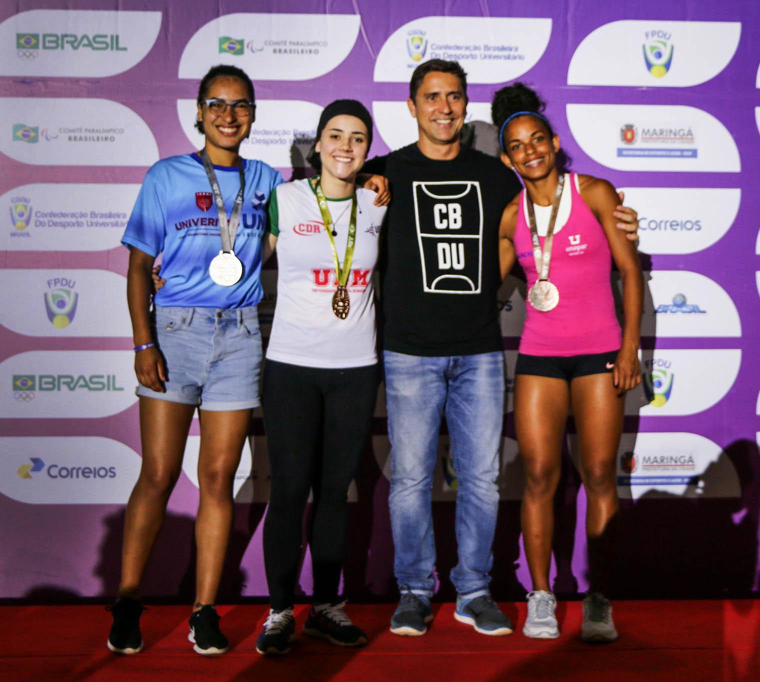 Atletas da UEM são os primeiros no atletismo, ciclismo e trabalhos científicos, nos Jogos Universitários Brasileiros