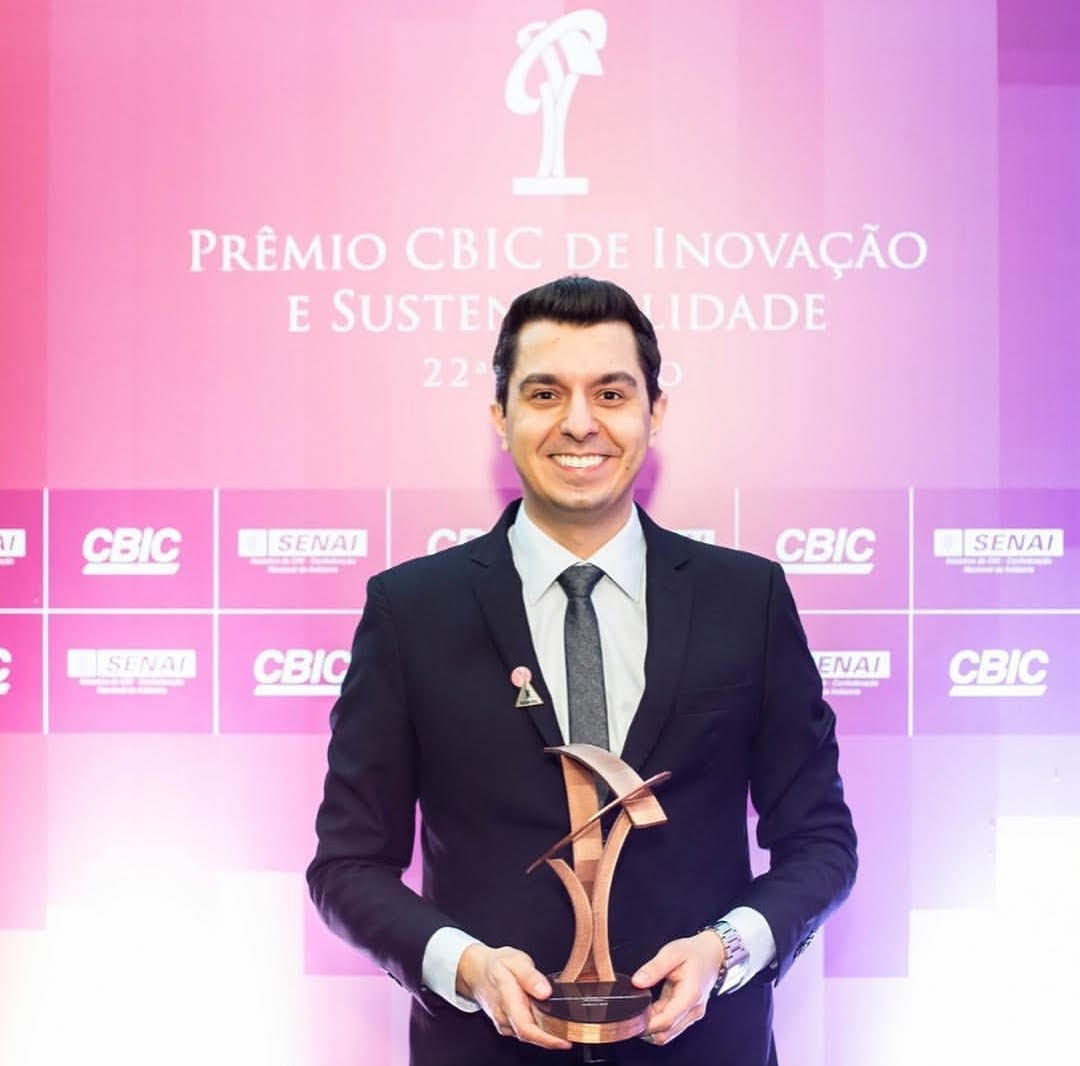 Professor conquista 2º lugar em prêmio nacional por sistema de proteção contra queda em altura