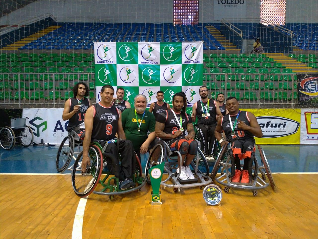Handebol em Cadeira de Rodas é campeão brasileiro na principal categoria