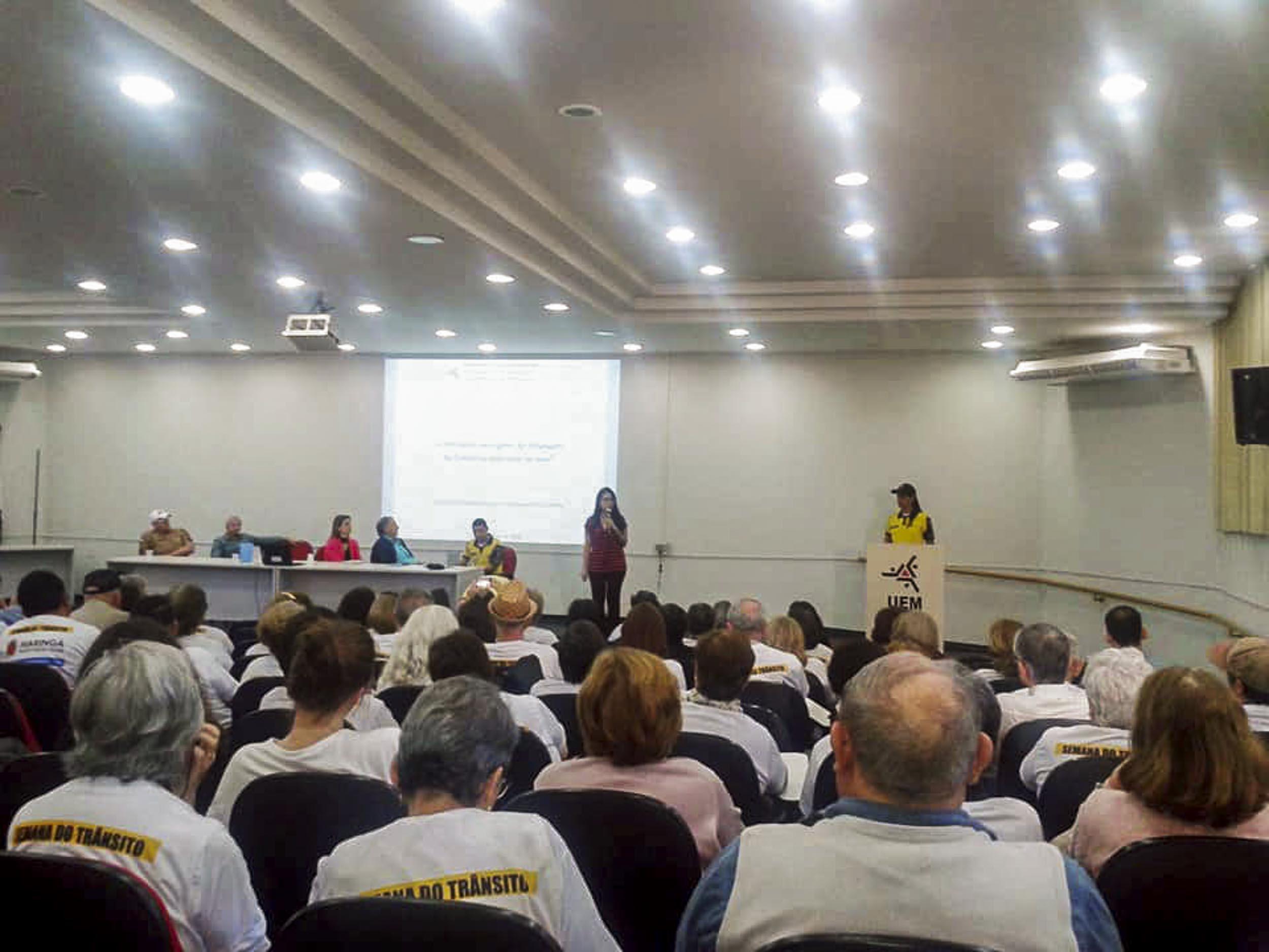 Projeto lançado na UEM dá início às ações para proteger o idoso no trânsito