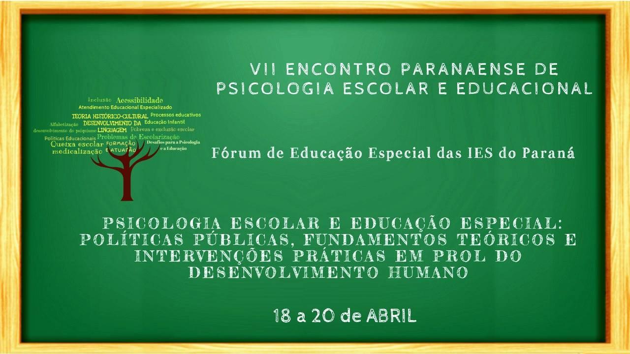 Psicologia Escolar e Educação Especial são tema de evento na UEM