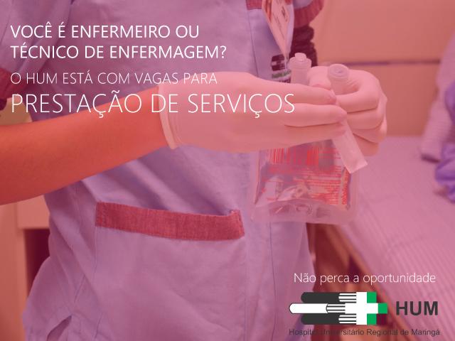 HUM credencia profissionais de enfermagem