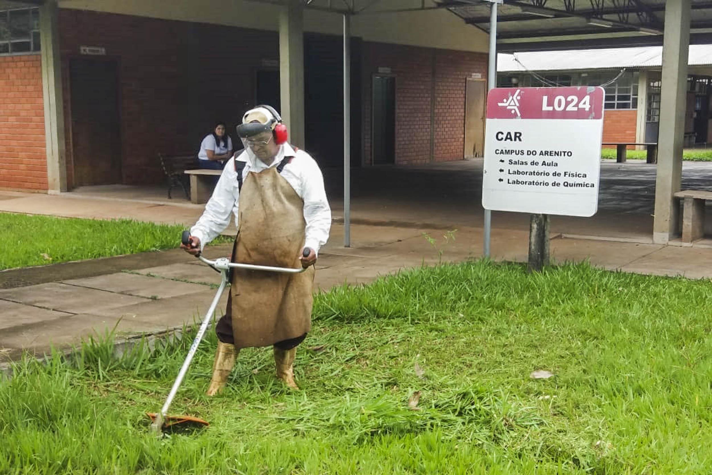 Câmpus regionais fazem manutenção de início de ano