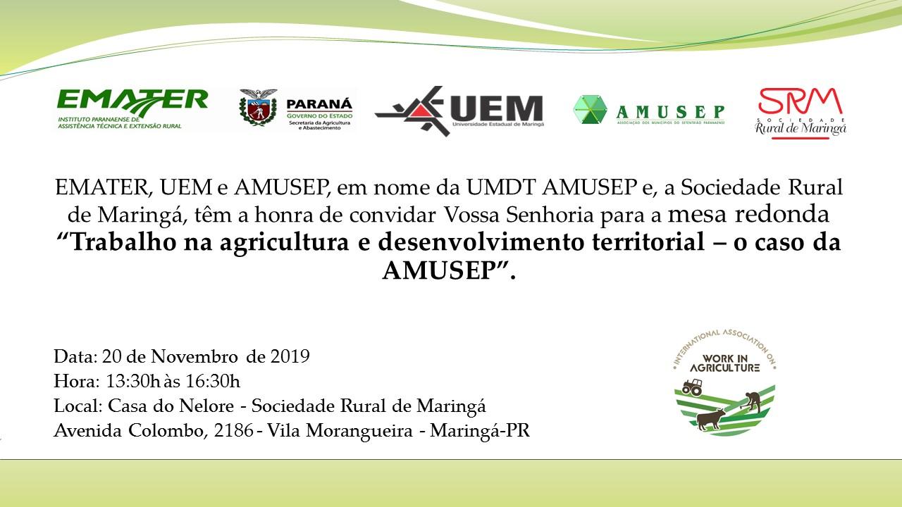 Mesa-redonda discutirá os desafios globais sobre o trabalho na agricultura