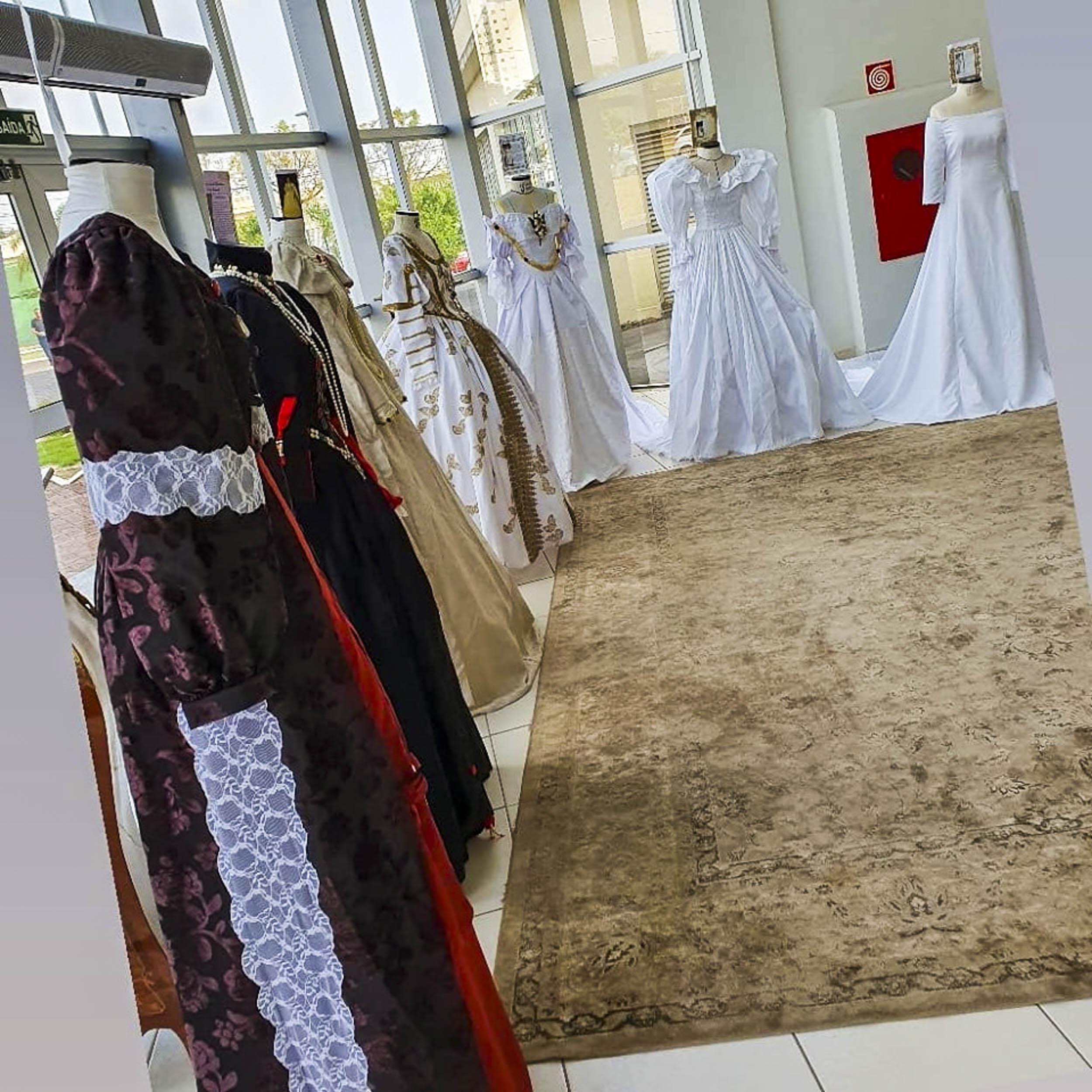 Exposição reúne vestidos de noiva usados desde a idade média