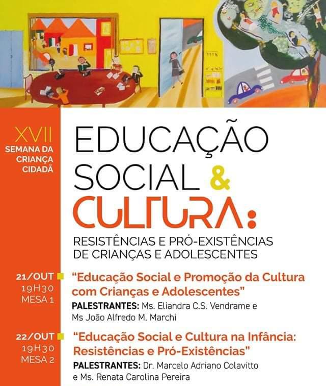 Semana Cidadã debaterá a educação social e cultura