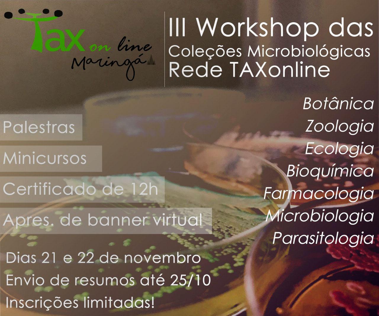 Workshop discutirá as coleções de microrganismos e manipulação de patrimônio genético nacional