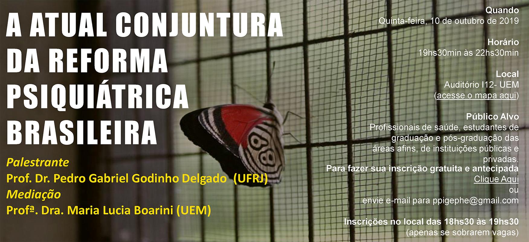 Seminários debaterão reforma psiquiátrica brasileira e crítica da subjetividade