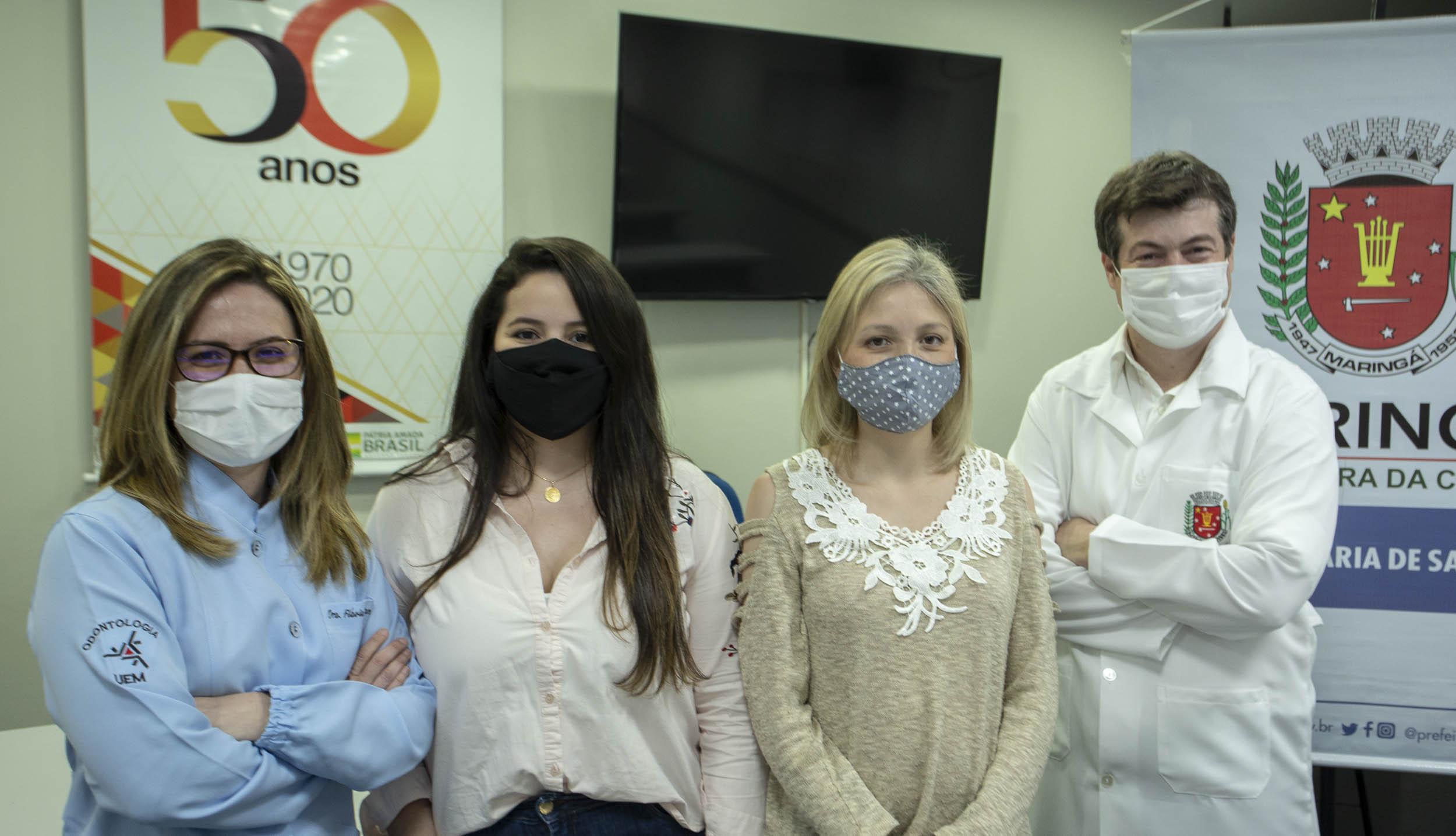 """DOD/UEM participa do projeto """"Teleorientação para Saúde Bucal em tempos de pandemia"""""""