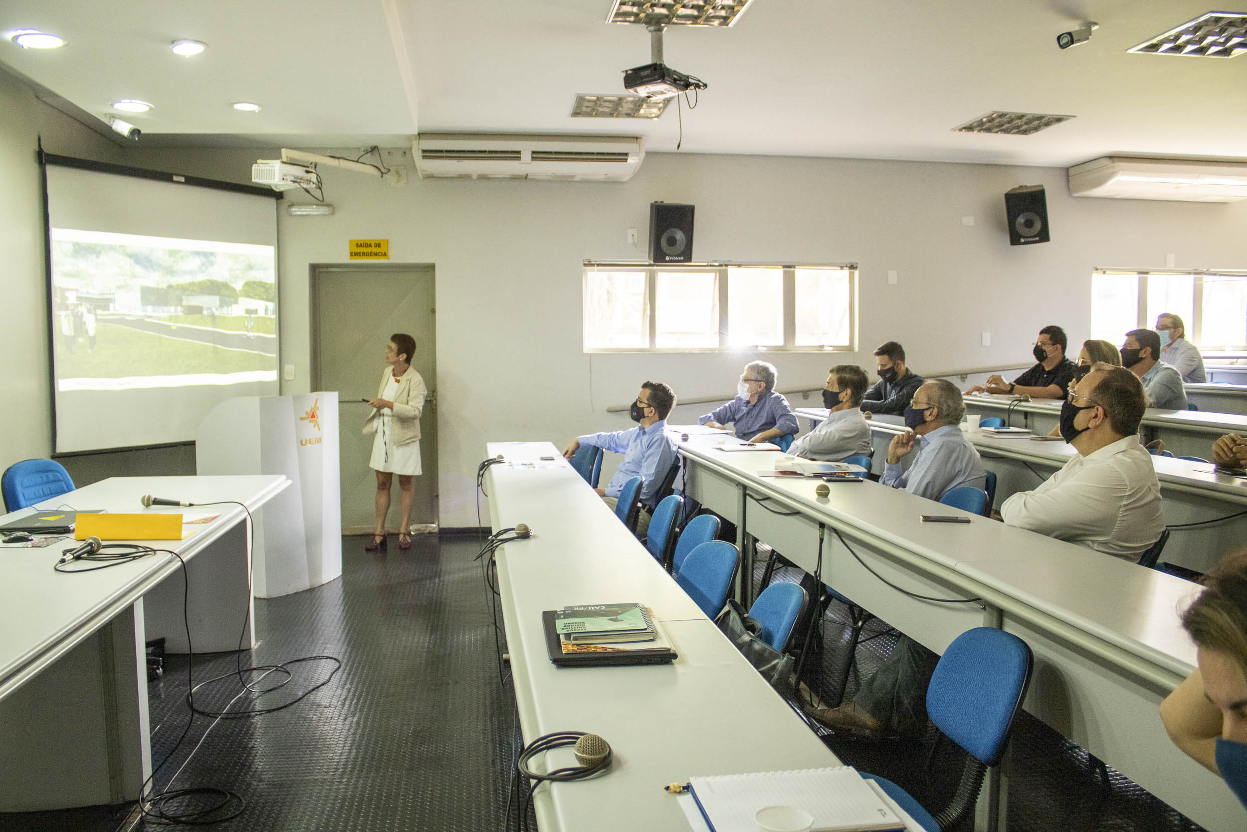 UEM apresenta projeto do Parque de Ciência e Inovação