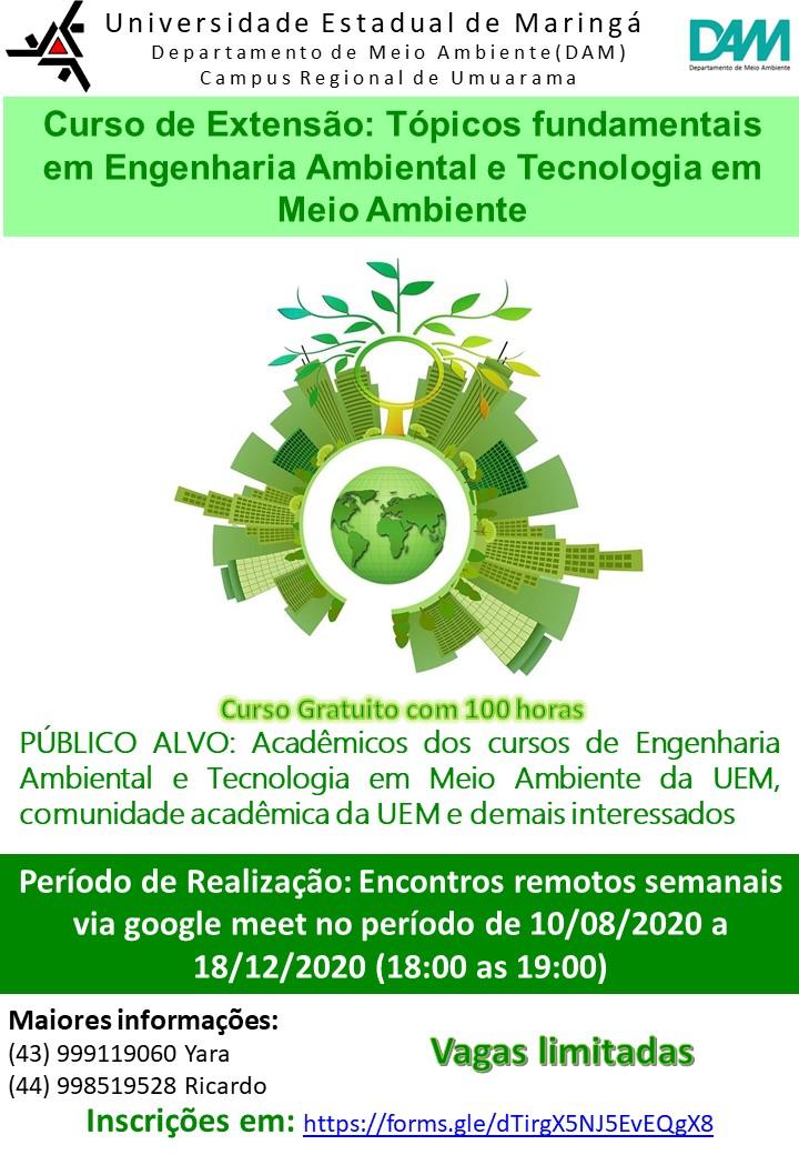 Curso aborda noções básicas da área ambiental
