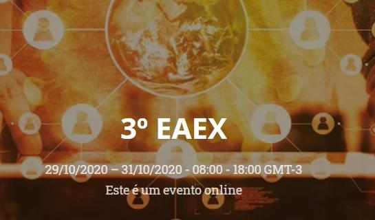 EAEX abre inscrições nesta segunda, dia 3